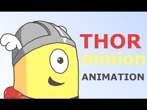 Minion Thor Thor Minion Animation Sketch