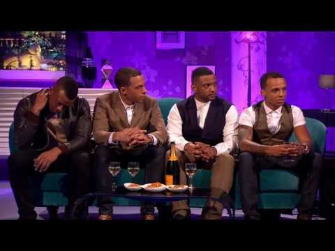 JLS on Alan Carr Chatty Man Part 1 26-04-13