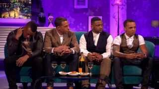 JLS on Alan Carr Chatty Man Part 1 26-04-13