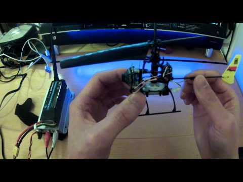 World's (possibly) smallest micro FPV RC helicopter - with video tx