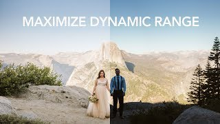 Maximize Dynamic Range using Lightroom