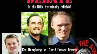 Video: Is the Bible historically reliable? - Ken Humphreys vs David Instone Brewer