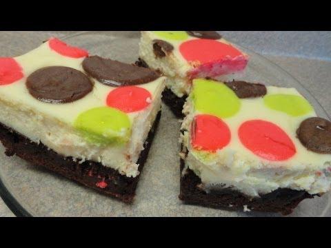 Polka-Dot Cheesecake Brownies