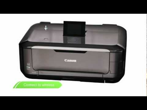 Canon Get Started -- Wireless printing set up on your PIXMA printer