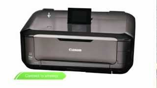 02. 01. Canon Get Started -- Wireless printing set up on your PIXMA printer