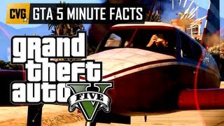GTA V - GTA 5 Minute Facts - Special Abilities & Skills in Grand Theft Auto 5