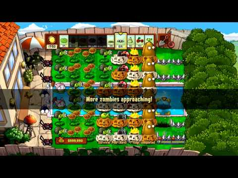 Plants Vs Zombies - Xbox 360 - Survival Pool Hard Part 3