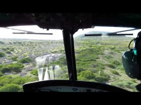 Cape Town Helicopters UH-1H (Bell 205) - Low Level Maneuvers near Cape Town. South Africa