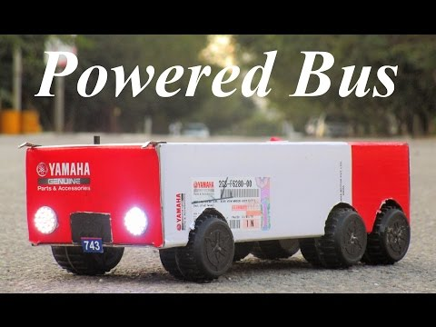 How To Make a Bus - Powered Bus - Very Simple
