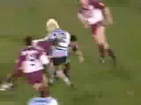 Big rugby tackles