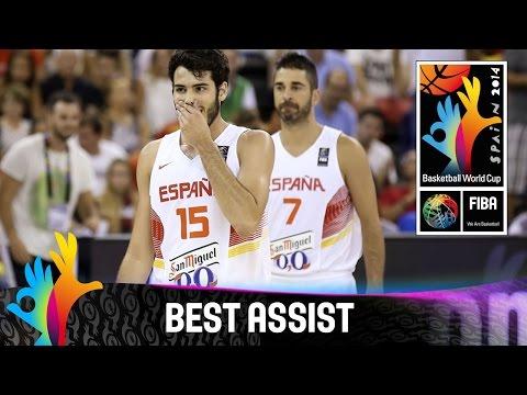 Spain v Egypt - Best Assist - 2014 FIBA Basketball World Cup