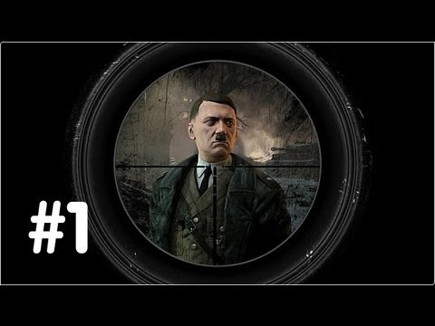Sniper Elite V2 Gameplay Walkthrough - Part 1 - Prologue - (Xbox 360/PS3/PC) HD