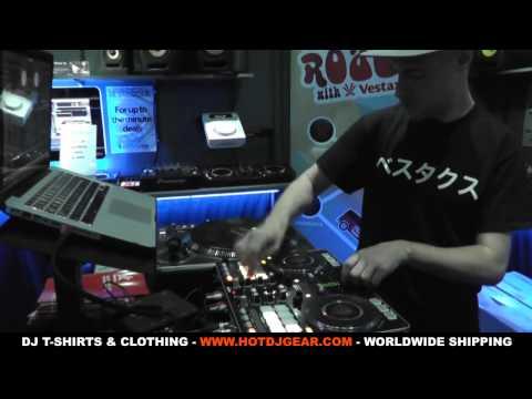 Vestax VCI-380 Juggling, Mixing & Scratching Demo By DJ Rasp