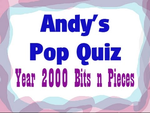 2000 Pop Quiz - 10 Bits & Pieces From 2000