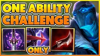 I GET A PENTAKILL USING ONLY 1 ABILITY ALL GAME (HILARIOUS) - BunnyFuFuu Full Gameplay