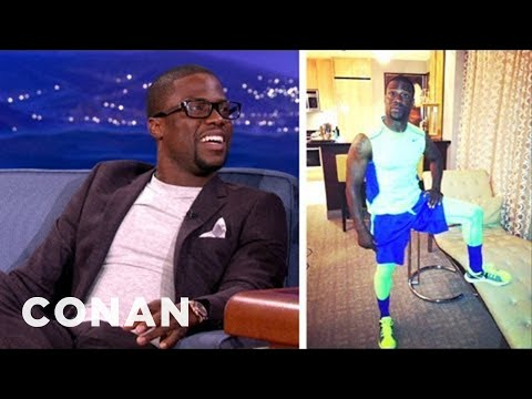 Kevin Hart Has An Incredible Work-Out Outfit