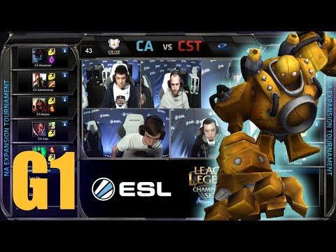 Curse Academy vs Team Coast | Game 1 Round 1 NA LCS Expansion Tournament | CA vs CST G1 60FPS