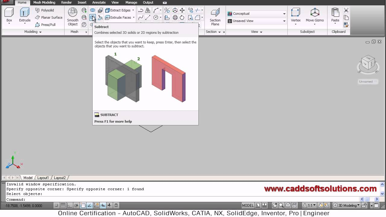 how to use autocad 2010 commands