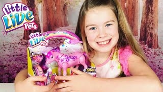 NEW LITTLE LIVE PETS PRINCESS MY DANCING UNICORN | MOOSE TOYS