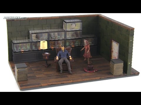 McFarlane The Walking Dead - The Governor's Room set review!