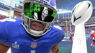 Madden 18 Career Mode - Wearing A Joker Visor In The Super Bowl!!