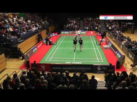 Men's Doubles Final - 2015 English National Badminton Championships video