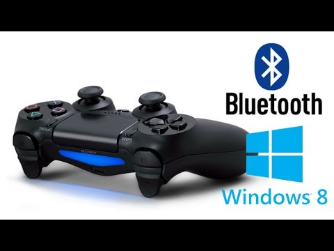 Proper PS4/DS4 Controller Setup - Windows 8 + Bluetooth edition