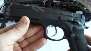 CZ 75 SP-01 Shadow vs Glock 19 gen4 [English subtitles]