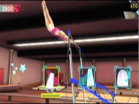 Gymnastics Game For Wii Gymnastics Video Game