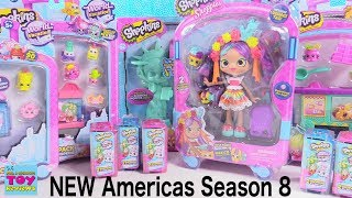 NEW Shopkins Americas Season 8 Pinata Party Surprise Toy Review Opening | PSToyReviews