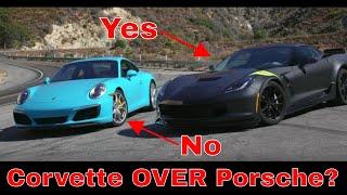 Why I Chose The Corvette Grand Sport Over Porsche