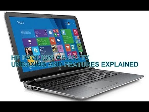 HP PAVILION NOTEBOOK AB-032 TX UNBOXING .....(OFFICIAL REVIEW )
