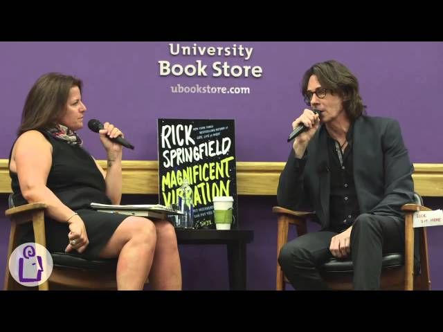 Rick Springfield at University Book Store