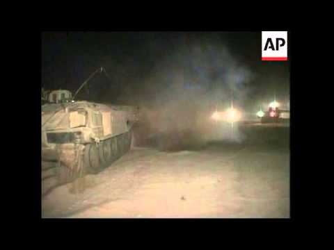Israeli tanks crossing into Gaza Strip, Hamas militant killed
