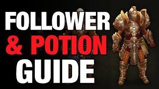 Diablo 3 Follower & Potion Guide Season & Non Season Templar, Enchantress
