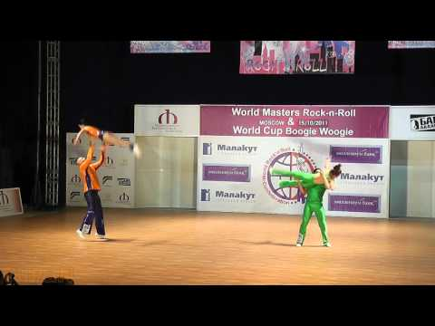 Noll - Kronsteiner (AUT) & Moos - Bischoff (GER) - World Masters Moskau 2011