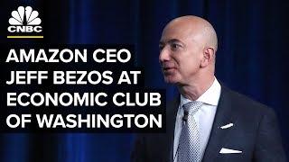 Jeff Bezos At The Economic Club Of Washington (9/13/18)
