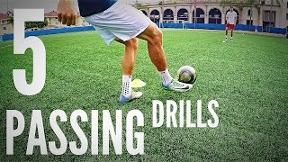 5 Essential Passing Drills For Soccer Players