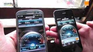 Apple iPhone 5 VS Samsung Galaxy S3 LTE_ 4G speed test