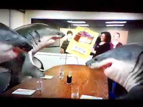 Snickers Shark Commercial