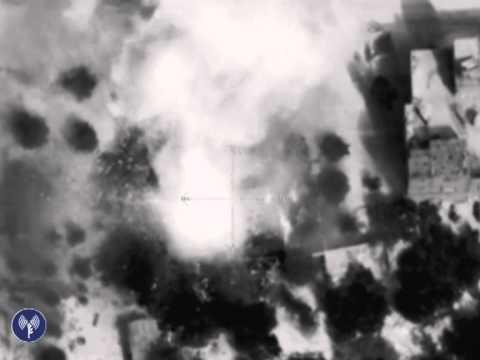 IDF Targets Terror Tunnels in Gaza