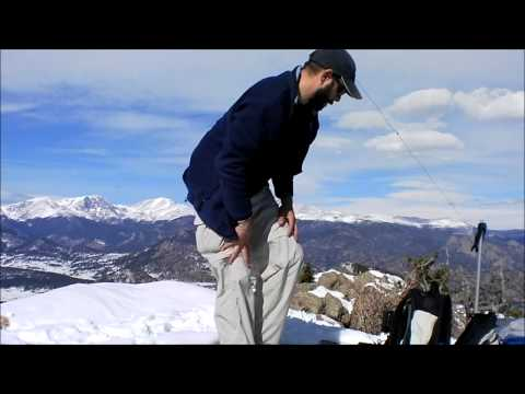 SOTA Activation: W0/FR-050 (Lily Mountain) N Colorado (Summits on the Air)