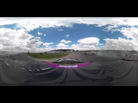First Stage: 360 video of Russian Drift Series in Moscow region