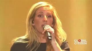 Ellie Goulding First Time   Live at Global Citizen Festival Hamburg