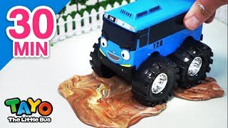They are coming! l Monster Trucks l Tayo Toy Adventure Special Compilation #3 (30mins)