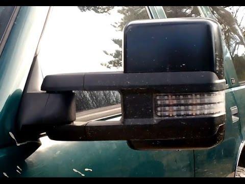 K2XX 2015 Chevy/GMC Tow Mirrors on GMT400 88-98 Truck (Klearz Lenses)