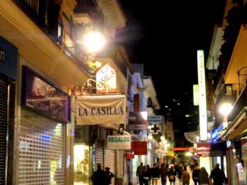 Spain Torremolinos By Night