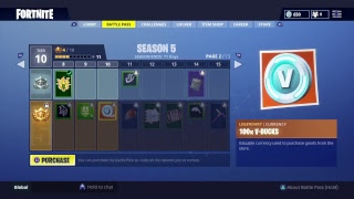 back with some fortnite! Season 5 solo