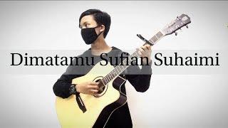 *Karaoke* Dimatamu Sufian Suhaimi Fingerstyle Guitar Cover by Hashori Fingerstyle (instrumental)