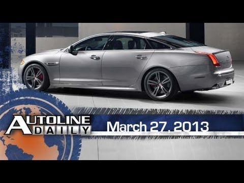 First R Model for New Gen Jaguar XJ - Episode 1100